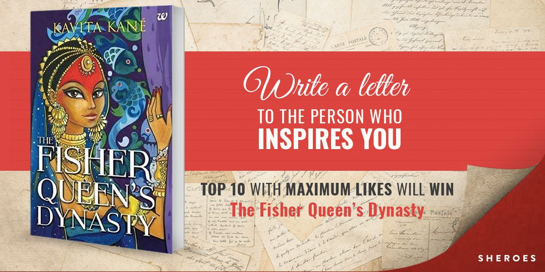 write a letter to the person who inspires you