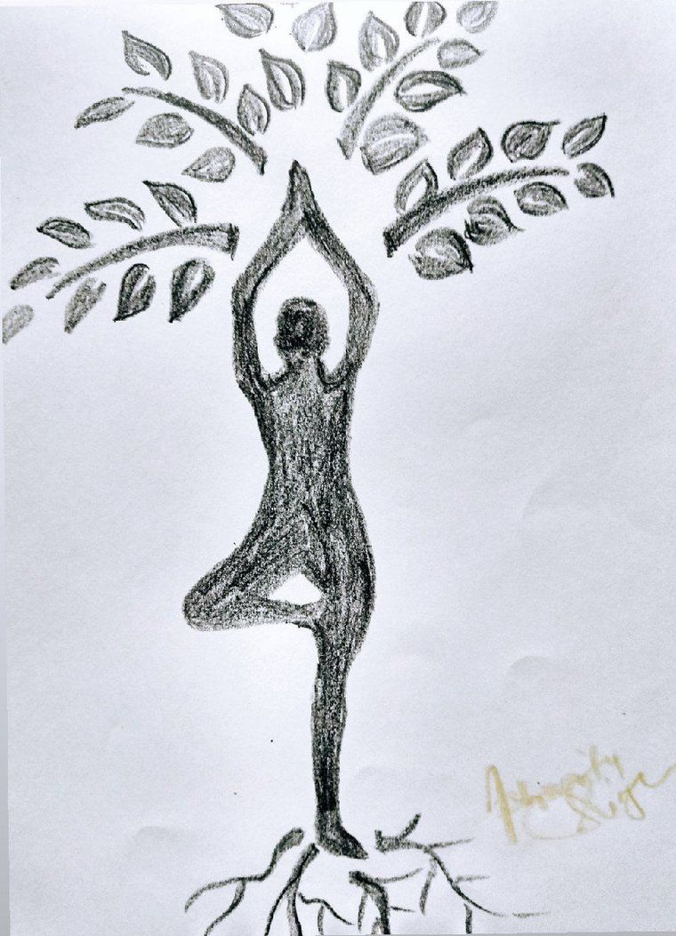 Happy International Yoga Day Art Craft And Photography Sheroes Sheroes