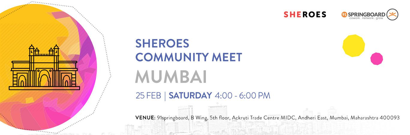 SHEROES Community Meet Mumbai
