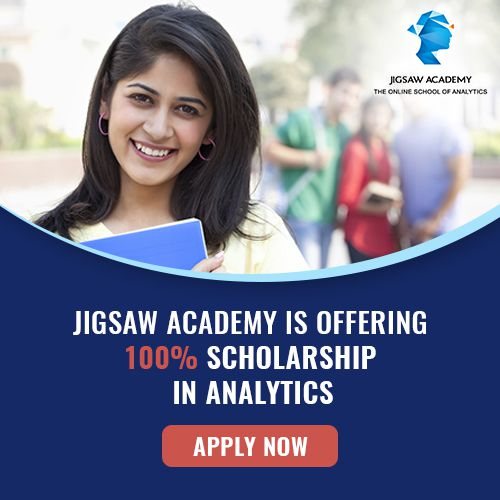 For Scholarship for Jigsaw Academy courses, click here