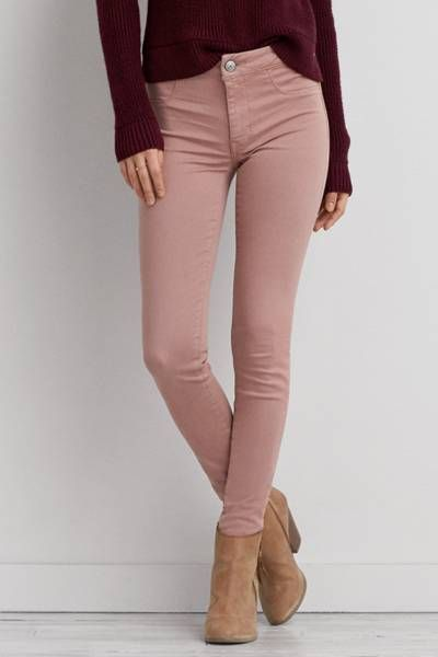 colorful jeggings