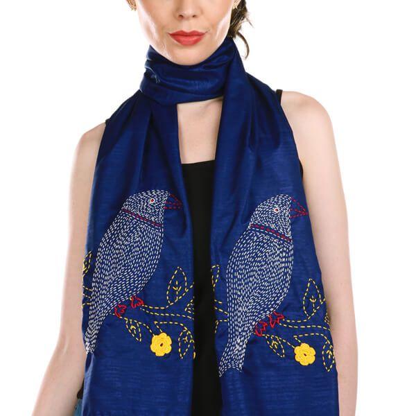 chungi store kantha scarf