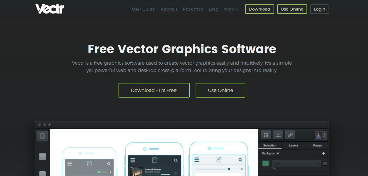 Vectr Graphic Designing Tool