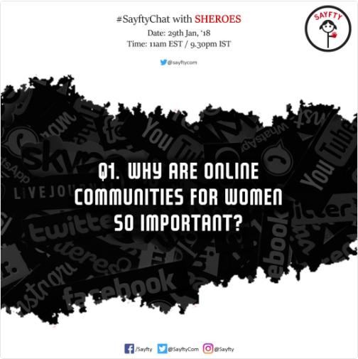 Online community sheroes