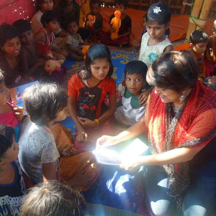 seena jacob bookwallah rohingya refugees