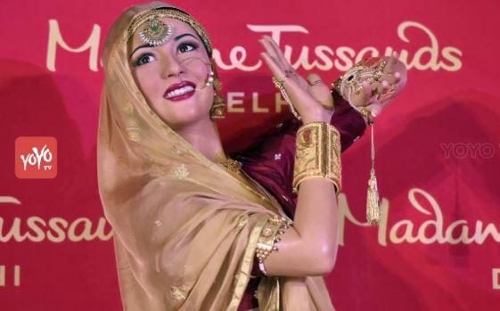 Madhubala Wax statue Madame Tussauds