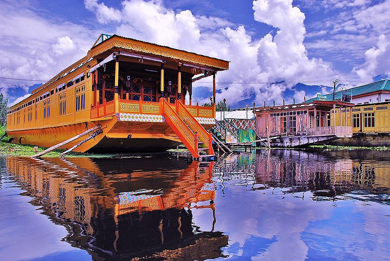 srinagar as best honeymoon places in india