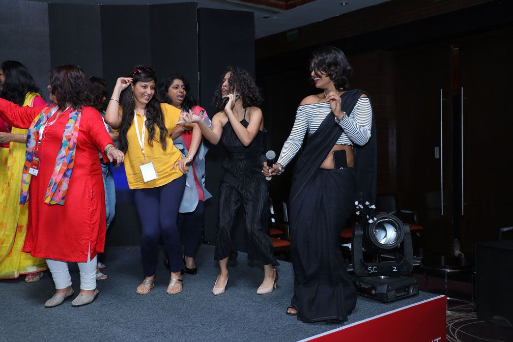 Dance at sheroes summit mumbai 2018