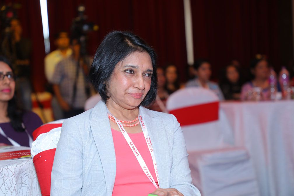 Sangeeta talwar at sheroes summit mumbai 2018