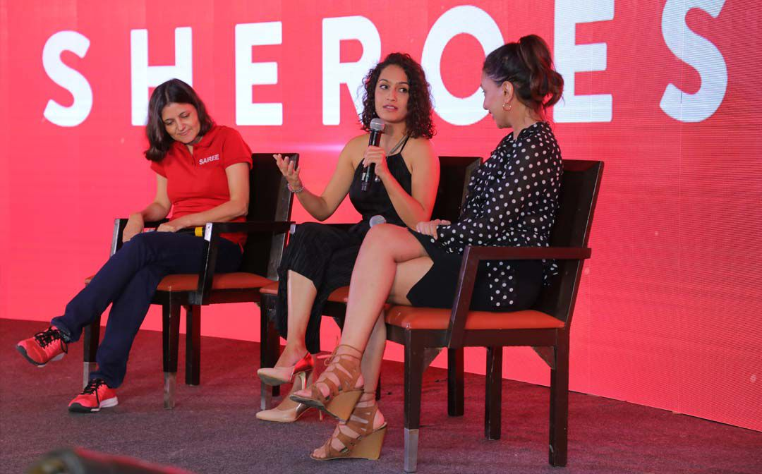 Miss Malini at SHEROES Summit 2018