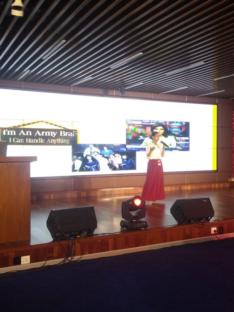 Mitali at SHEROES Summit 2018