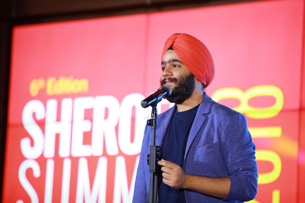 Navaldeep Singh at SHEROES Summit 2018