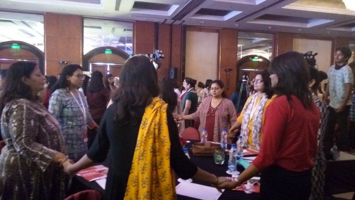 Participation portrayed at SHEROES Summit Delhi