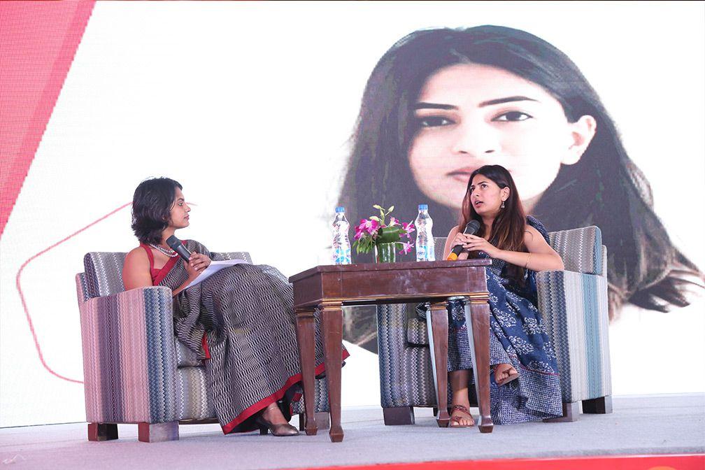 Gurmeher Kaur at SHEROES summit delhi 2018