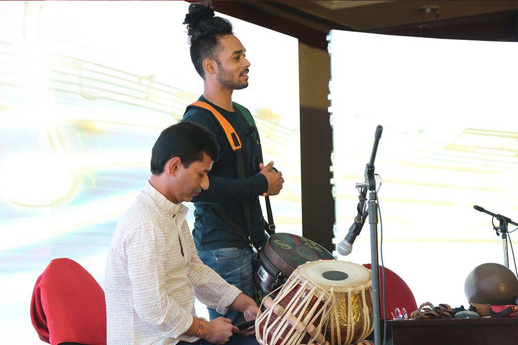 Tarit pal at sheroes summit delhi