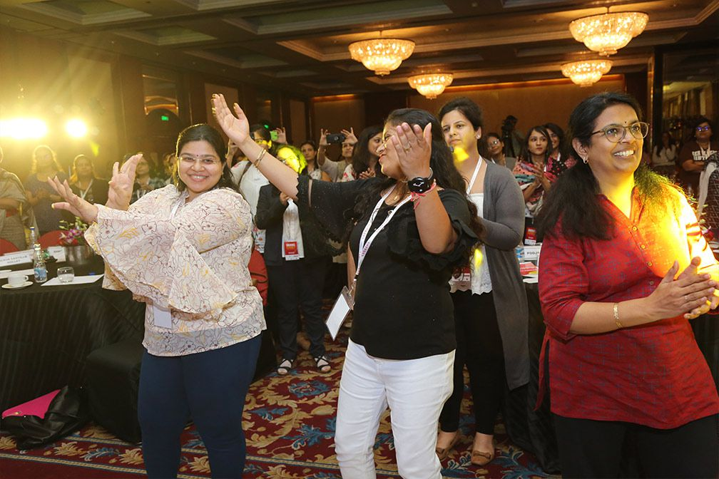 dance at sheroes summit 2018