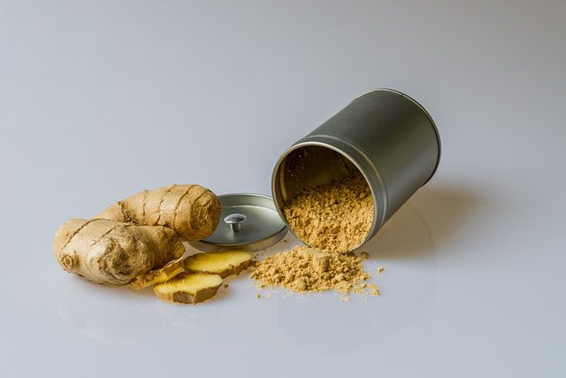 ginger for dry cough