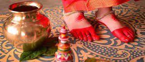 alta on bengali bride