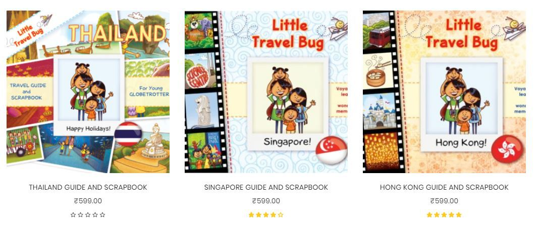 little travel bug books
