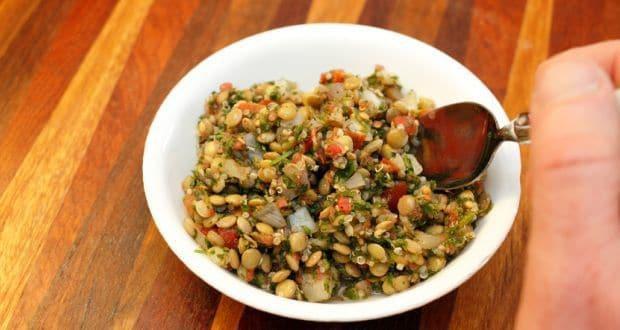 Quinoa Lentil Salad