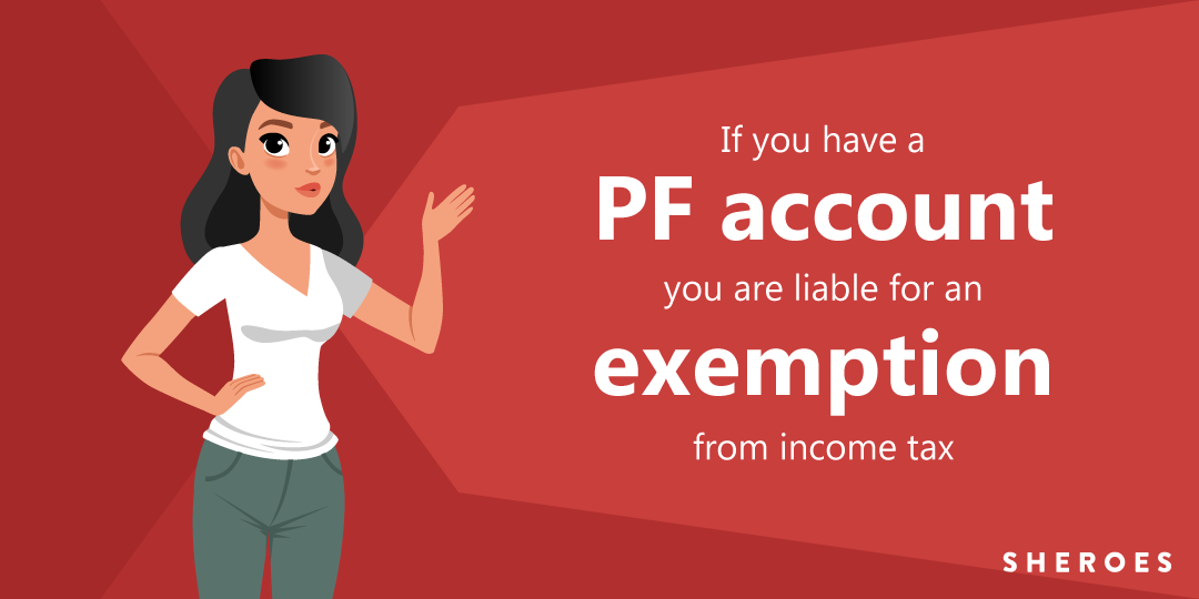 income tax exemption for pf