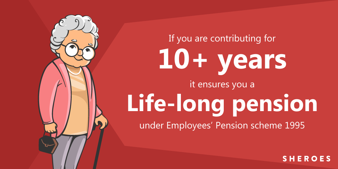 life long pension for pf holders