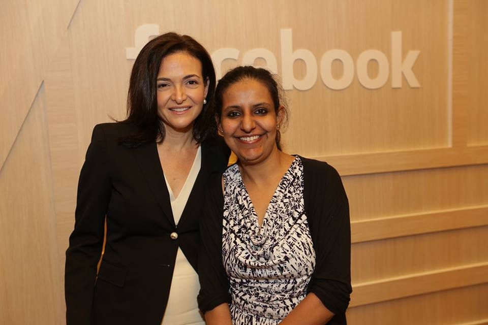 simran with sheryl
