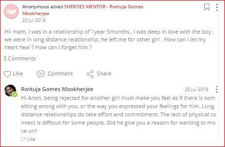 rwituja advises on relationship