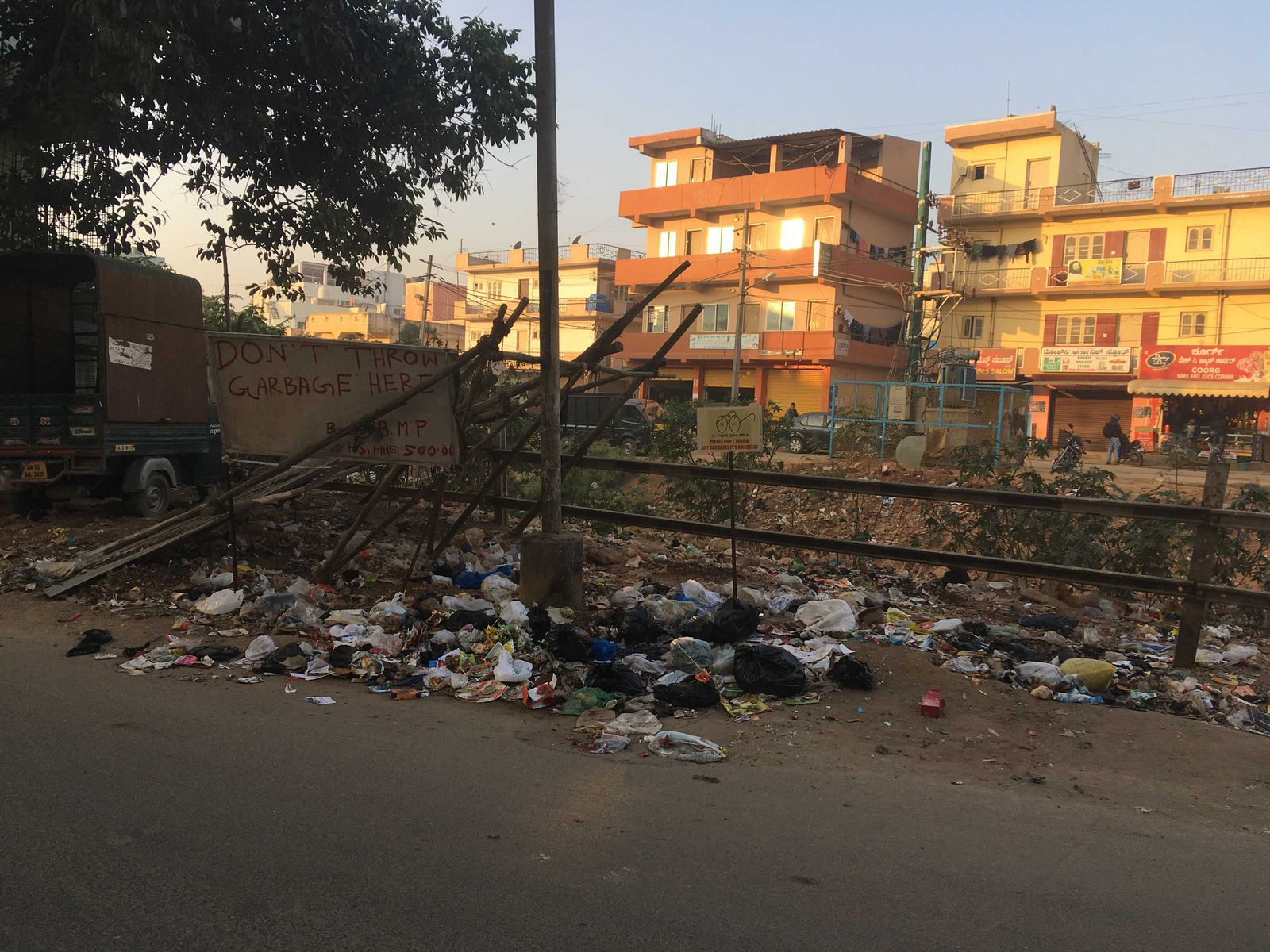 garbage thrown near nandita's society