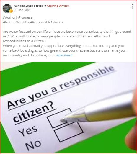 are you a responsible citizen