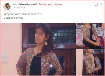 swati sahawal's design on sheroes