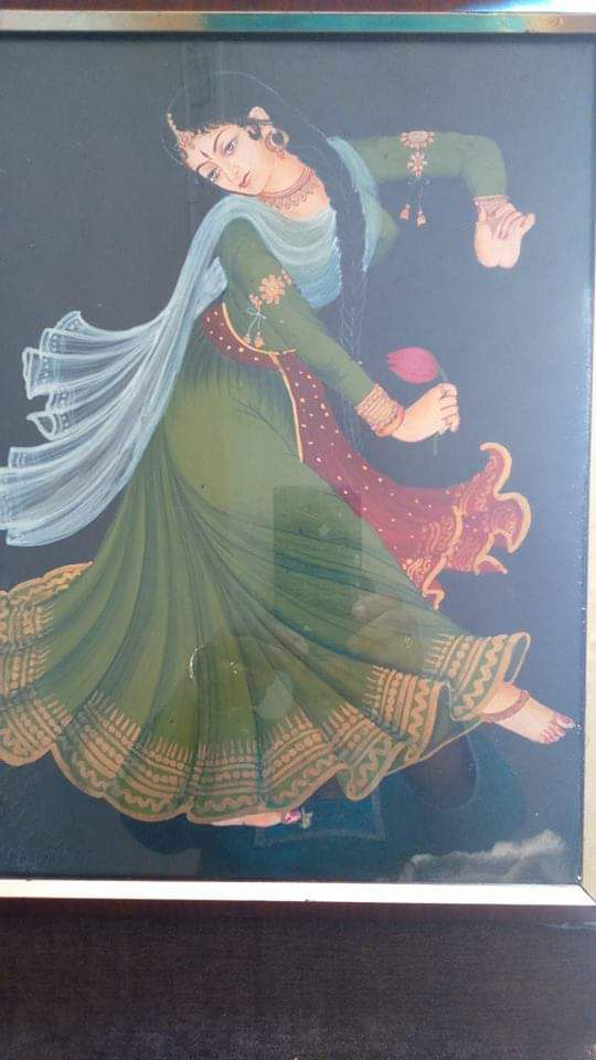 rekha's painting of a dancer