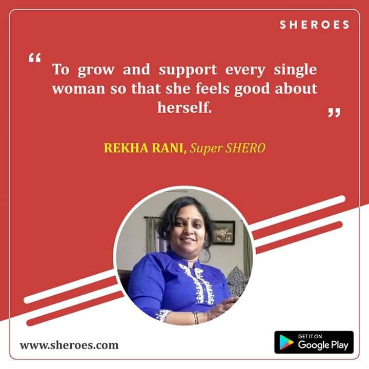 rekha as a super shero