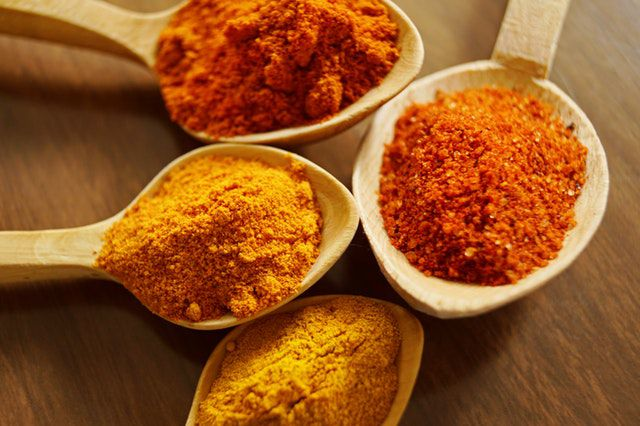 clean it off with turmeric for removal of pimples