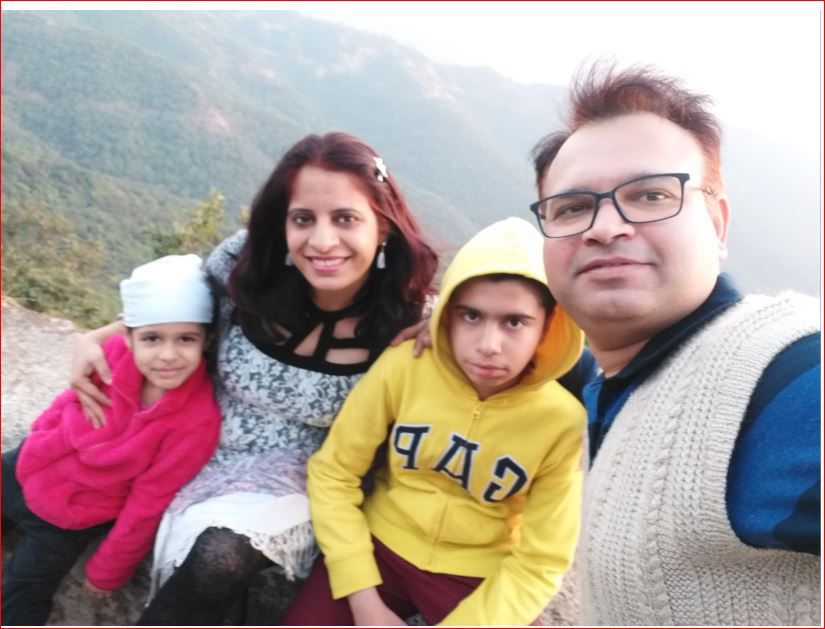 vinamrata family photo