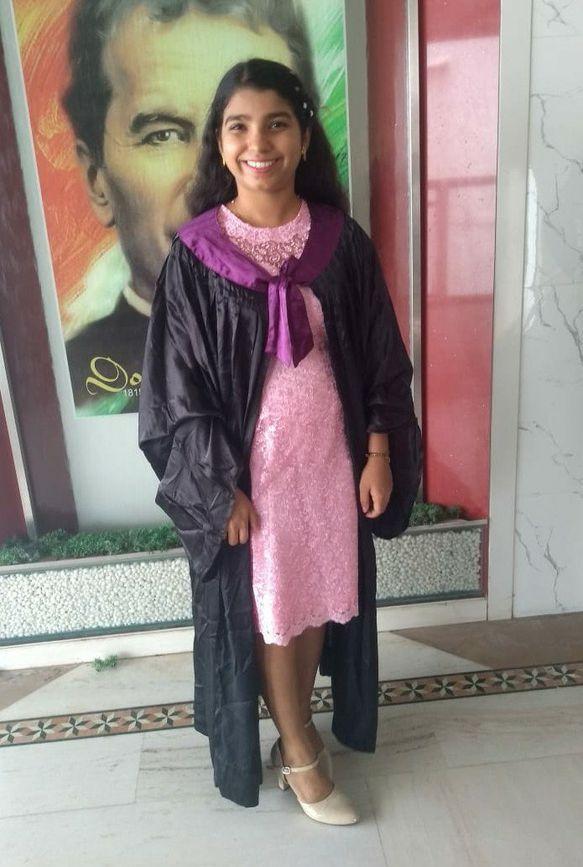 raina as an engineering graduate