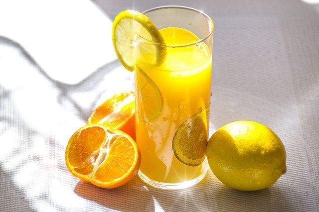 lemon juice to reduce uric acid