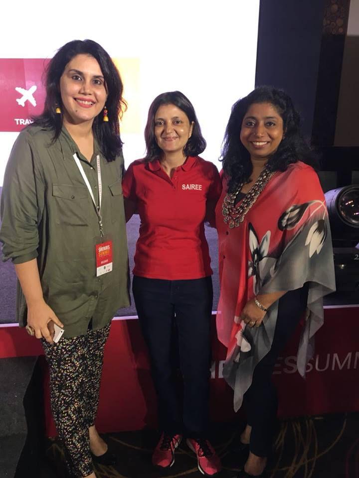 rachana with sairee and indu nair