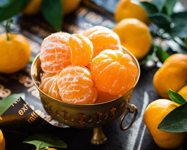orange for glowing skin