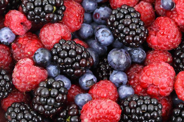 berries for glowing skin