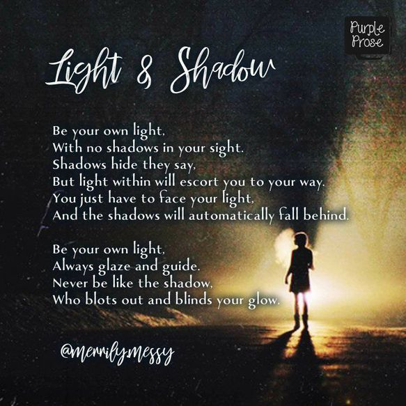 prashita's poem light and shadows