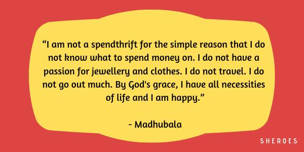 madhubala quotes