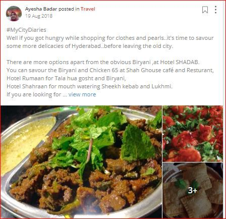 ayesha posts about Hyderabadi Cuisine