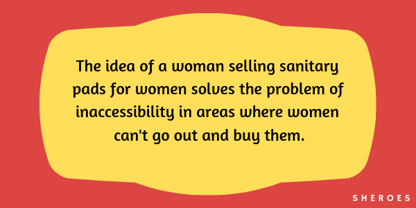 period padselling women
