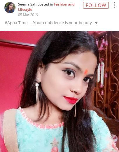 your confidence is your beauty apna time