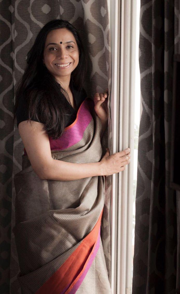manisha in saree