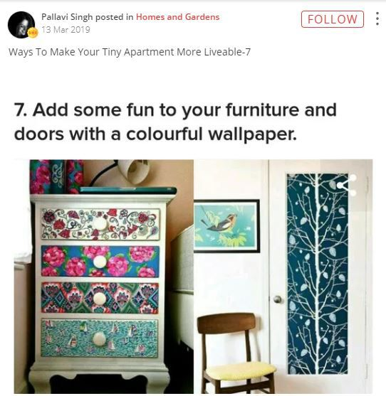 add some fun to your furniture