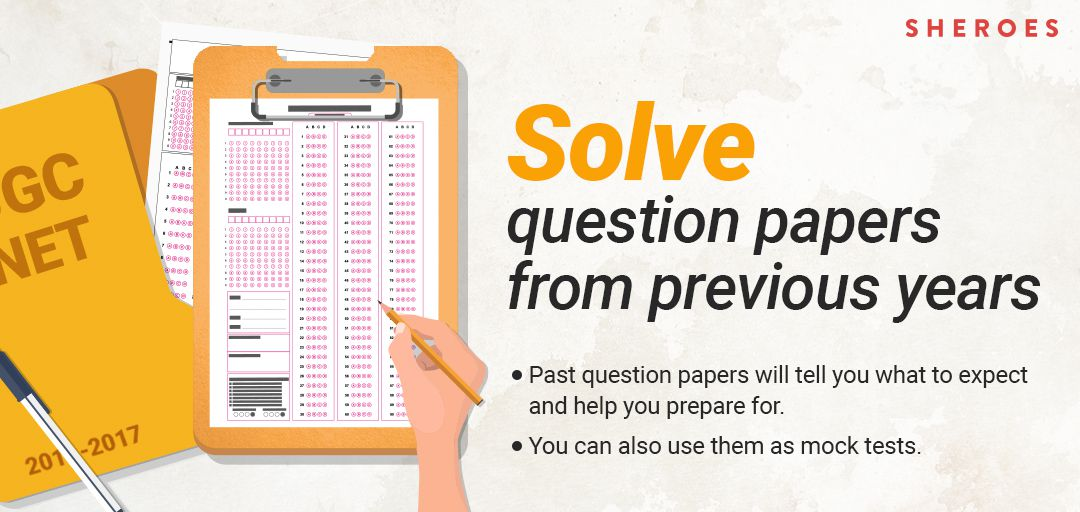solve question papers from previous year ugc net paper