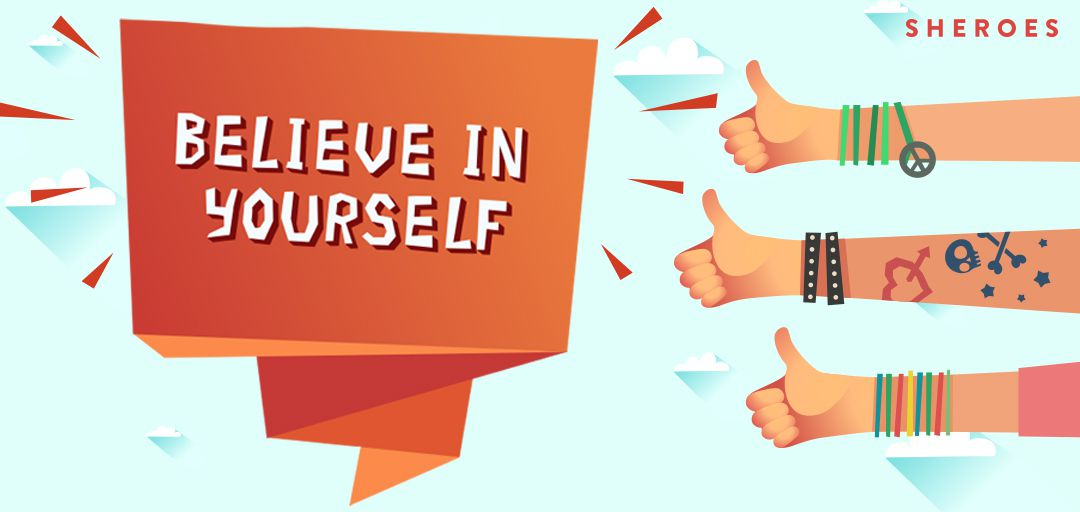 believe in yourself creative for ugc net