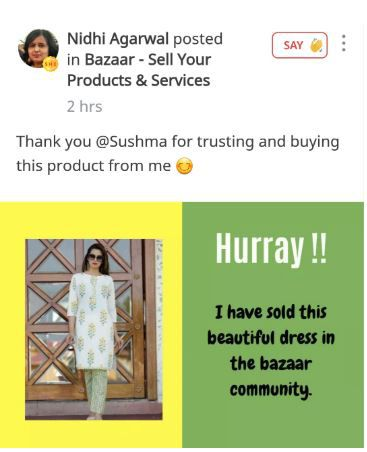 nidhi agarwal post on sheroes